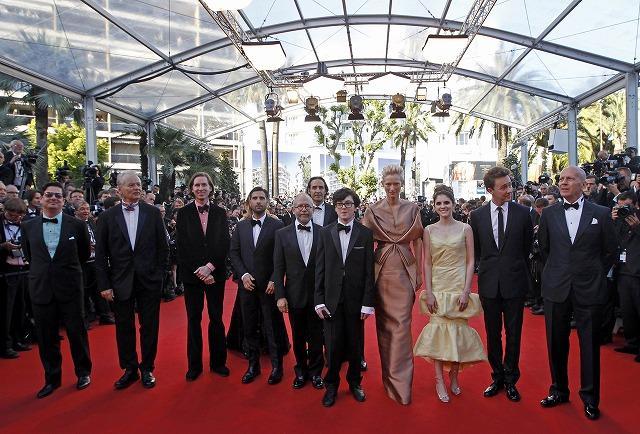 第65回カンヌ映画祭開幕 W・アンダーソン監督率いる豪華キャスト勢ぞろい
