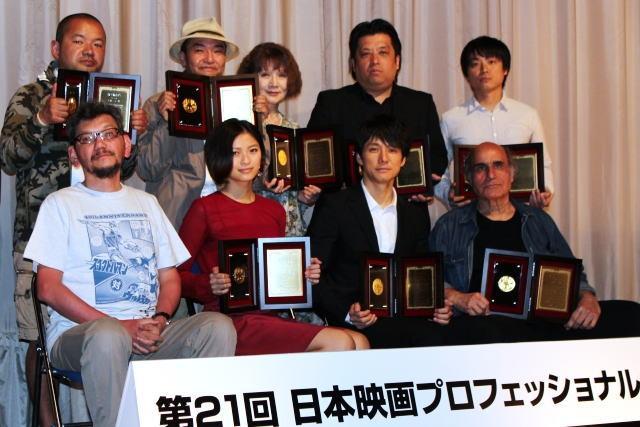 第21回日プロ大賞授賞式 西島秀俊、榮倉奈々ら受賞者が喜びの声