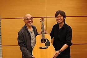 アコースティックギターの名器を譲り受けた三浦祐太朗「旅立ち 足寄より」