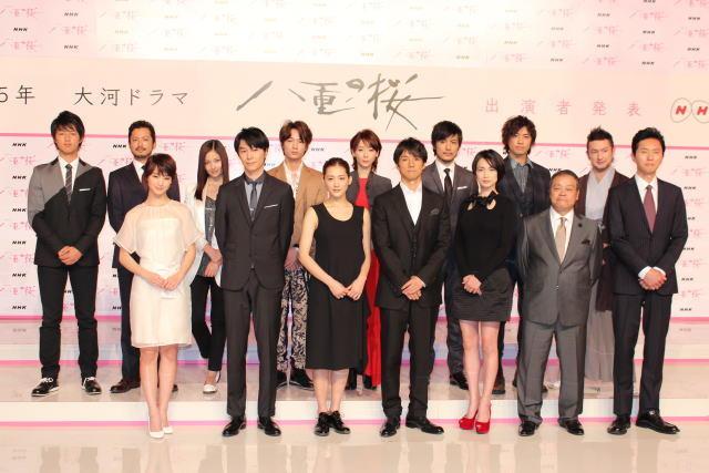 綾瀬はるか主演NHK大河「八重の桜」に西島秀俊、メイサら豪華キャスト 剛力は感涙