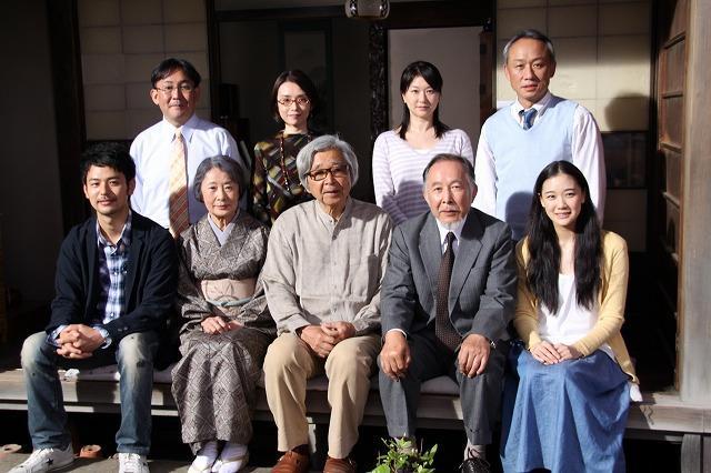 山田洋次監督「東京家族」撮了間際で感無量 キャスト一同も「幸せ」