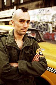 ロバート・デ・ニーロが演じたトラビス・ビックル「タクシードライバー」