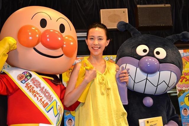 木村佳乃、愛娘は「アンパンマンのように優しくて勇気のある女の子に」