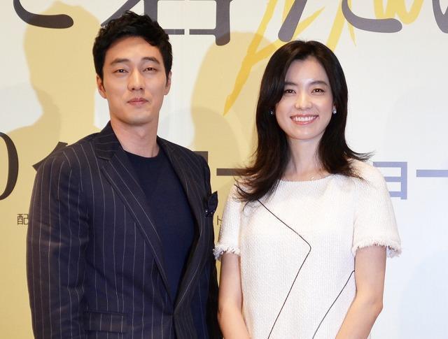 ソ・シゾブ&ハン・ヒョジュ、初共演映画で仲睦まじく来日
