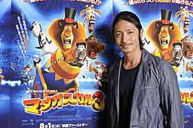 3年ぶりに人気シリーズのアフレコを行った玉木宏「マダガスカル3」