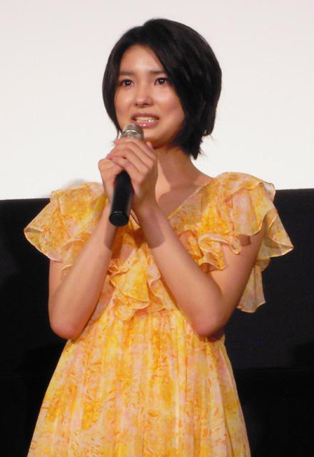 三根梓、銀幕デビュー作公開に感涙「一生忘れない」