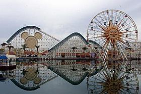 ディズニー・カリフォルニア・アドベンチャー「カーズ」