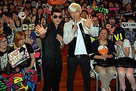 オールナイトニッポンの公開収録を行ったBIGBANGメンバー