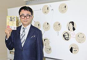 自ら描いた似顔絵を使って「清須会議」を説明した三谷幸喜「清須会議」