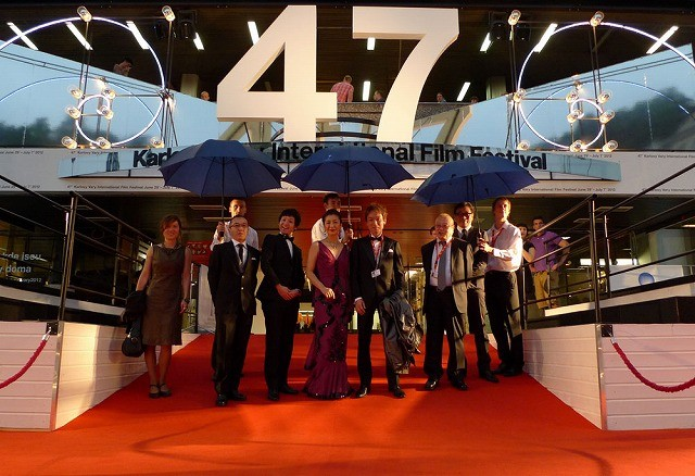 高橋惠子、東欧最大の映画祭で40年ぶりのレッドカーペット