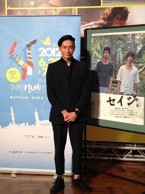 伊勢谷友介、監督第2作「セイジ」引っさげ台北映画祭に出席