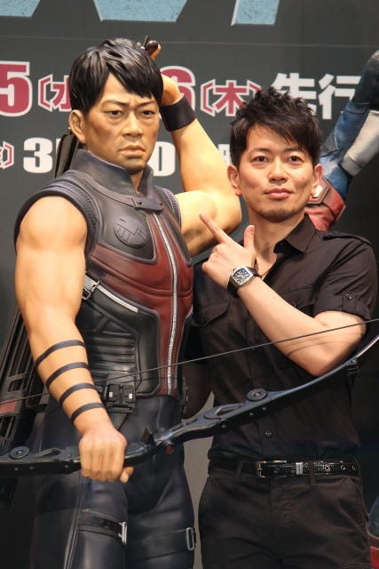 宮迫博之、弓の名手ホークアイ役で「アベンジャーズ」参戦