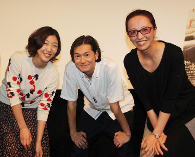安藤サクラと井浦新「かぞくのくに」プレミアで万感 ヤン・ヨンヒ監督は北朝鮮の家族への思い語る