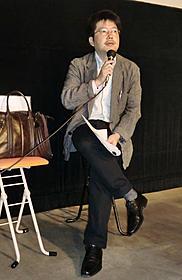 ラカンの視点で作品を語った原和之氏「愛の残像」