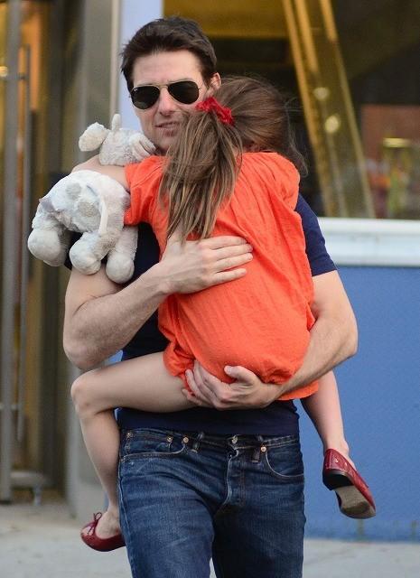 トム・クルーズ、娘スリとニューヨークで再会