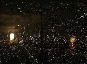 花火大会の空撮映像を映画館で「劇場版 東京スカイツリー 世界一のひみつ」