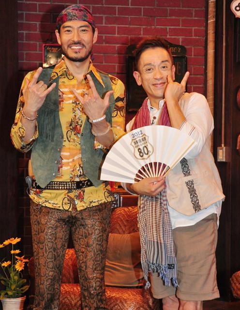 高嶋政宏&クリス松村、洋楽に絡めて日本勢を応援