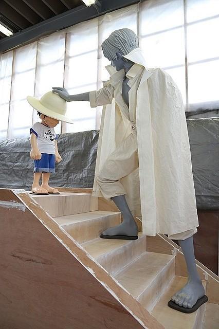 「ワンピースグランドアリーナツアー」展示品を製作中の工房に潜入