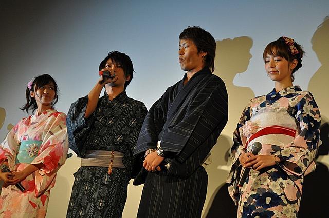 平野綾&吉木りさ、浴衣姿で「FAIRY TAIL」アピールに躍起