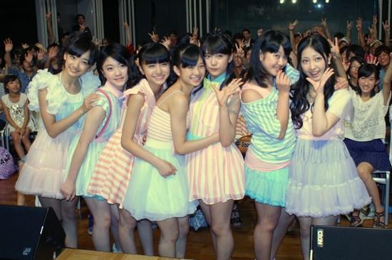同じく7人組で共同生活… Fairies「頑張れ新体操フェアリージャパン!」