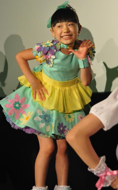 芦田愛菜、ちびっ子ファンと一緒に激しくダンス!