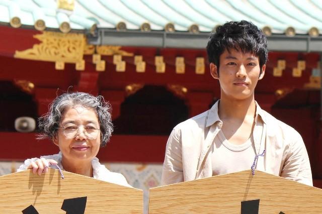 「ツナグ」で初共演した樹木希林と松坂桃李