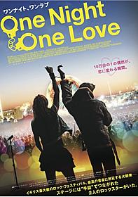 デビッド・マッケンジー監督の最新作のポスター「One Night One Love ワンナイト、ワンラブ」