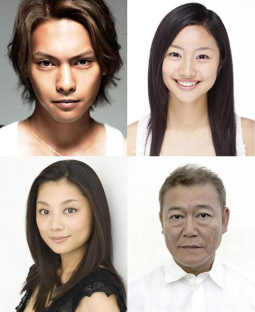 「許されざる者」への出演が決まった(左から時計回り) 柳楽優弥、忽那汐里、國村隼、小池栄子