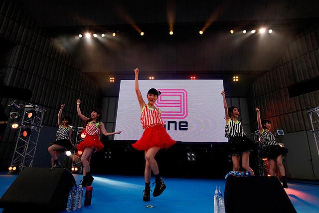 川島海荷、「9nine」初の全国ツアー発表に「気合いが入ります」