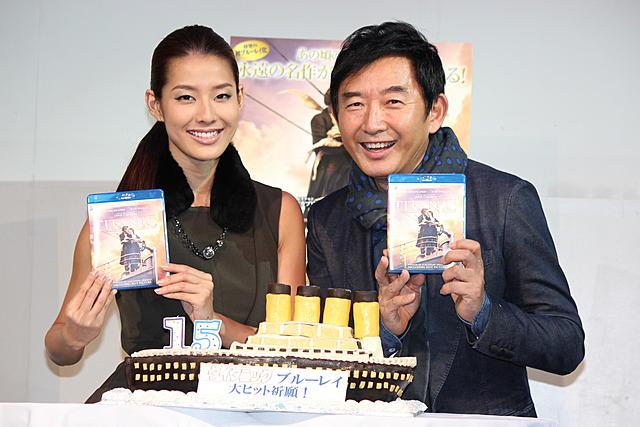 石田純一「タイタニック」公開当時は「僕も沈没寸前だった」