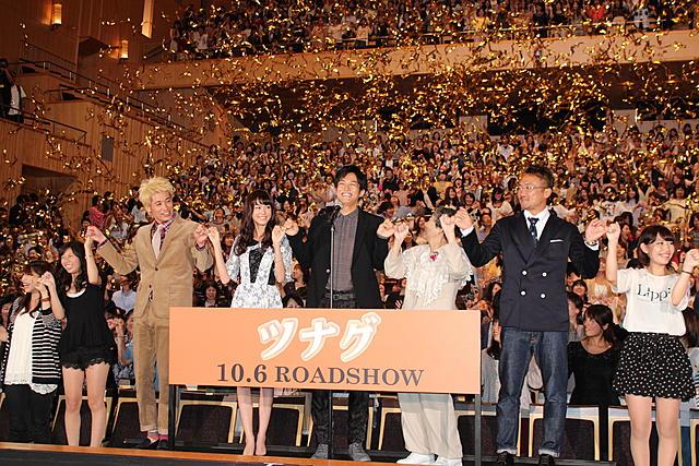 映画「ツナグ」が快挙!指きり1001人達成でギネス世界記録