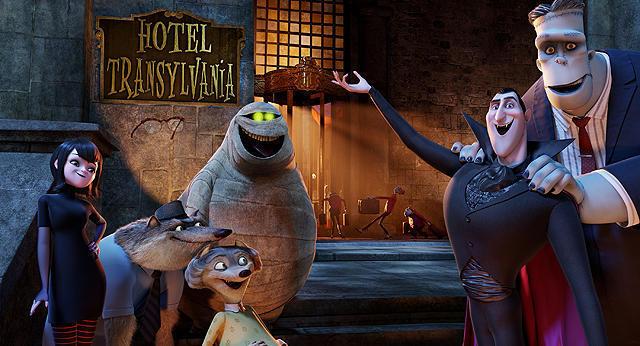 【全米映画ランキング】3Dアニメ「モンスター・ホテル」がV。「ルーパー」は2位デビュー