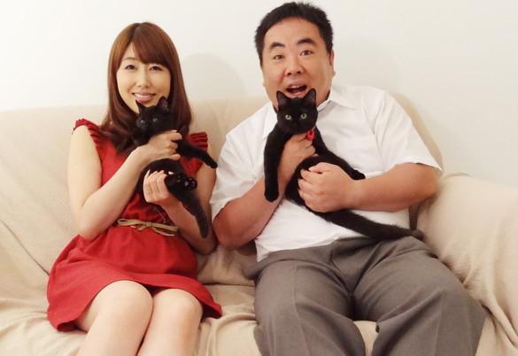 塚地武雅&安めぐみが夫婦役、幸せのヒント描く「くろねこルーシー」