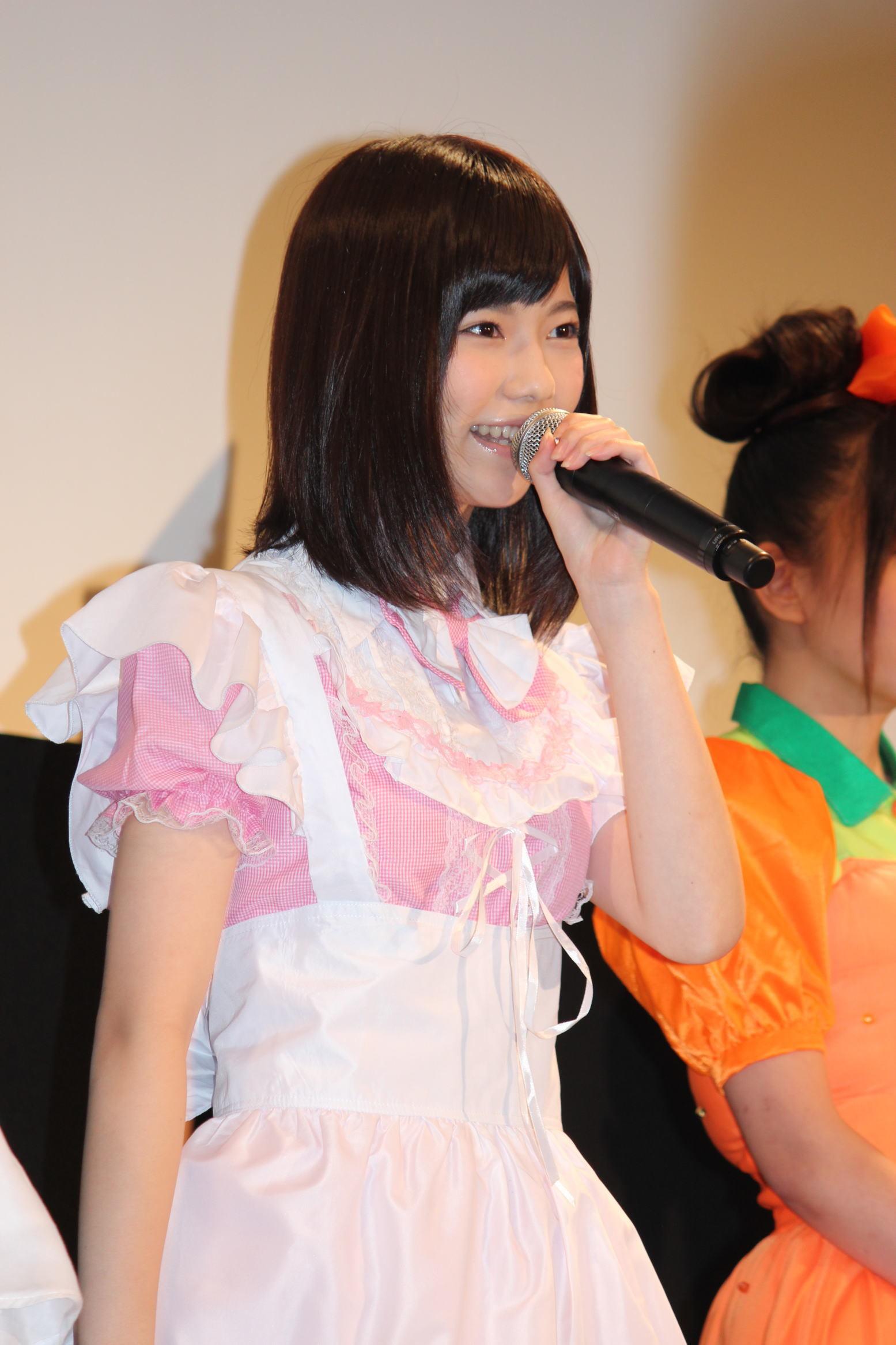 じゃんけん大会優勝のAKB48島崎遥香がメイド姿を自画自賛
