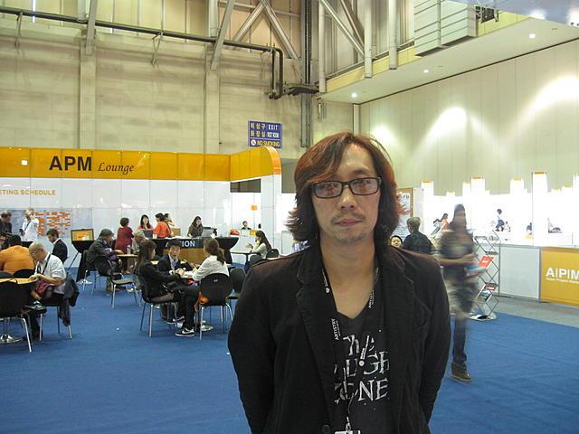 釜山国際映画祭アジアン・プロジェクト・マーケット(APM)に 参加した行定勲監督