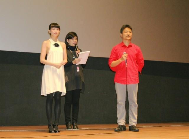 臼田あさ美&舩橋淳監督、最新作引っさげ釜山映画祭で舞台挨拶