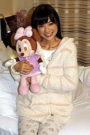 パジャマ姿を披露した優希美青