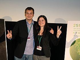 マルコ・ボンファンティ監督とプロデューサーのアンナ・ゴダーノ「最後の羊飼い」