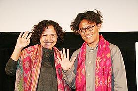 リリ・リザ監督とプロデューサーのミラ・レスマナ「ティモール島アタンブア39℃」