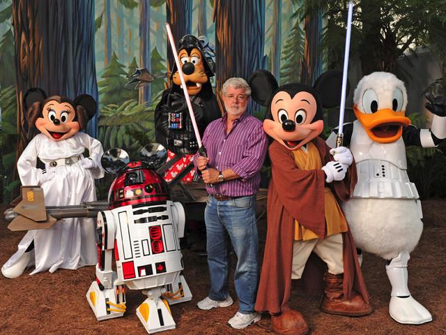 ディズニーがルーカスフィルムを買収