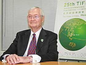 第25回東京国際映画祭コンペティション部門で 審査委員長を務めたロジャー・コーマン「もうひとりの息子」