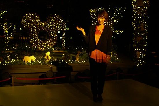 ボニー・ピンクがイルミ点灯、ディズニーの光バックに歌う - 画像5