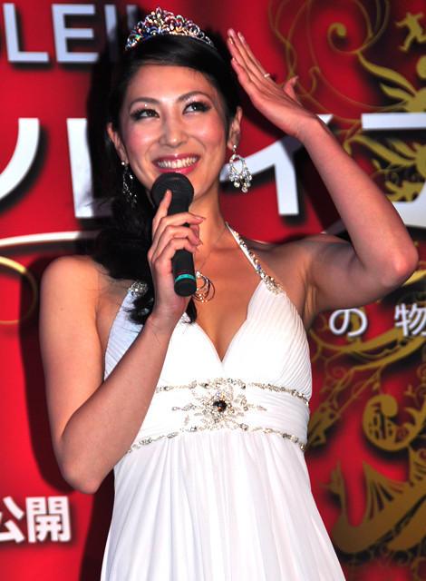 ミス・インターナショナル吉松育美さん、グランプリ決め手は自らデザインのドレス? - 画像2