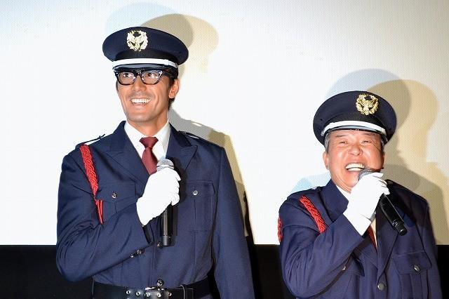 阿部寛、警備員に扮しドッキリ登場!「人をだますって意外と楽しい」