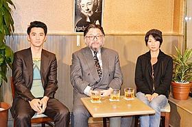 ハードボイルド談義を交わした3人「探偵はBARにいる」