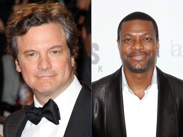 ハリウッド版「最強のふたり」はコリン・ファース&クリス・タッカー?