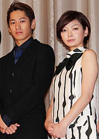 「ふがいない僕は空を見た」初日挨拶に 出席した永山絢斗と田畑智子「ふがいない僕は空を見た」