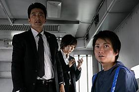 「藁の楯」に出演する大沢たかお、松嶋菜々子、藤原竜也「藁の楯 わらのたて」
