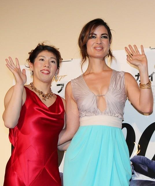 世界を席巻「007 スカイフォール」日本でお披露目、23代目ボンドガールが初来日
