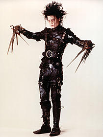 エドワード役でアニメにカメオ出演「シザーハンズ」